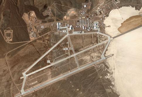 foto de satelite AREA51